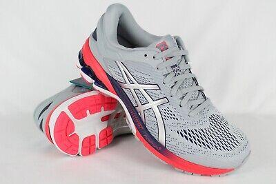 Asics Women's GEL Kayano 26 Running Size 11 Piedmont Grey/Silver 1012A457 020