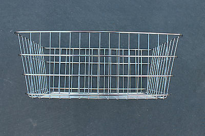 Schwinn Cycle Truck Extra LARGE Chrome Delivery Bike Basket fits Pre & Post War
