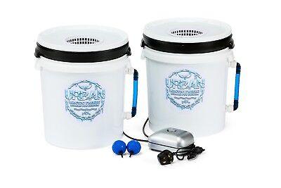 2x 20L Urban Arctic Freeze Bubble Pot DWC Oxy Bubbler Alien Ice Line Hydroponics