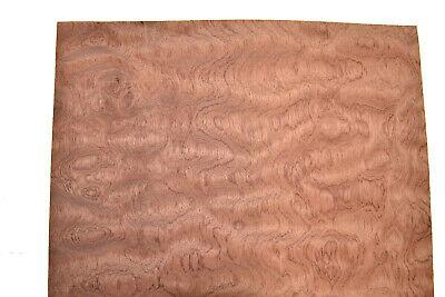 Bubinga Wood Veneer Sheets 13 X 45 Inches Aka African Rosewood 7652-48