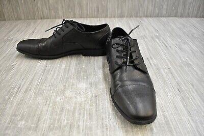 Calvin Klein Lino Oxford Dress Shoes, Men's Size 9, Black