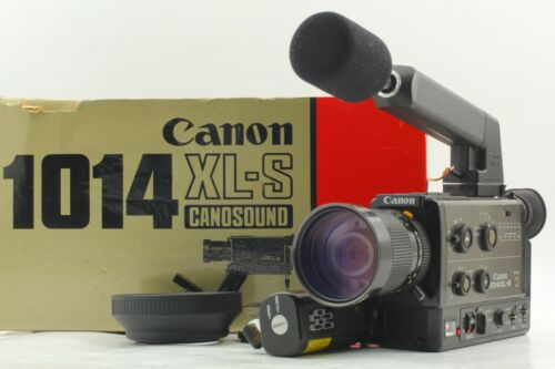 【MINT+++ in Box】 Canon 1014XL-S Super 8 8mm Film Movie Camera w/ Hood From JAPAN
