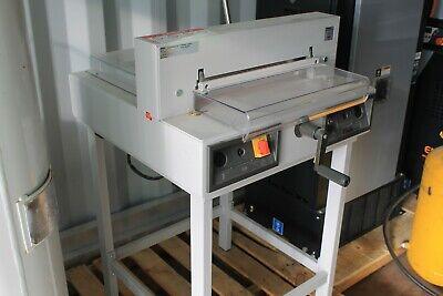 Triumph Mbm Ideal 4215 16.87 Digital Paper Cutter