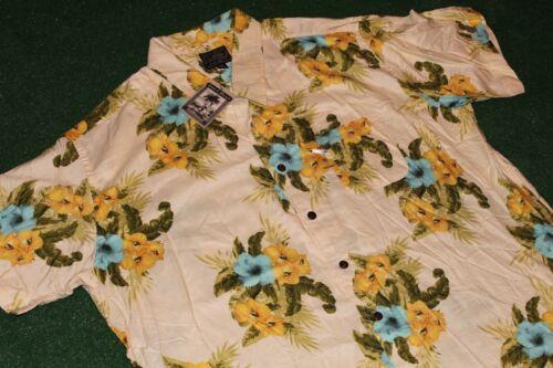 XXL~NEVER WORN+Tag~Steve & Barry Floral~Hawaiian Rayon Dress Shirt reyn spooner