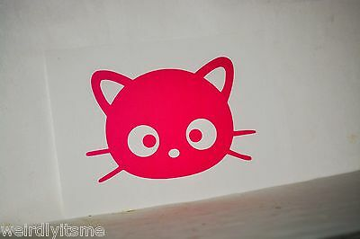 Chococat Vinyl Car Bumper Laptop iPad Tablet Window Decal Sticker Hello Kitty