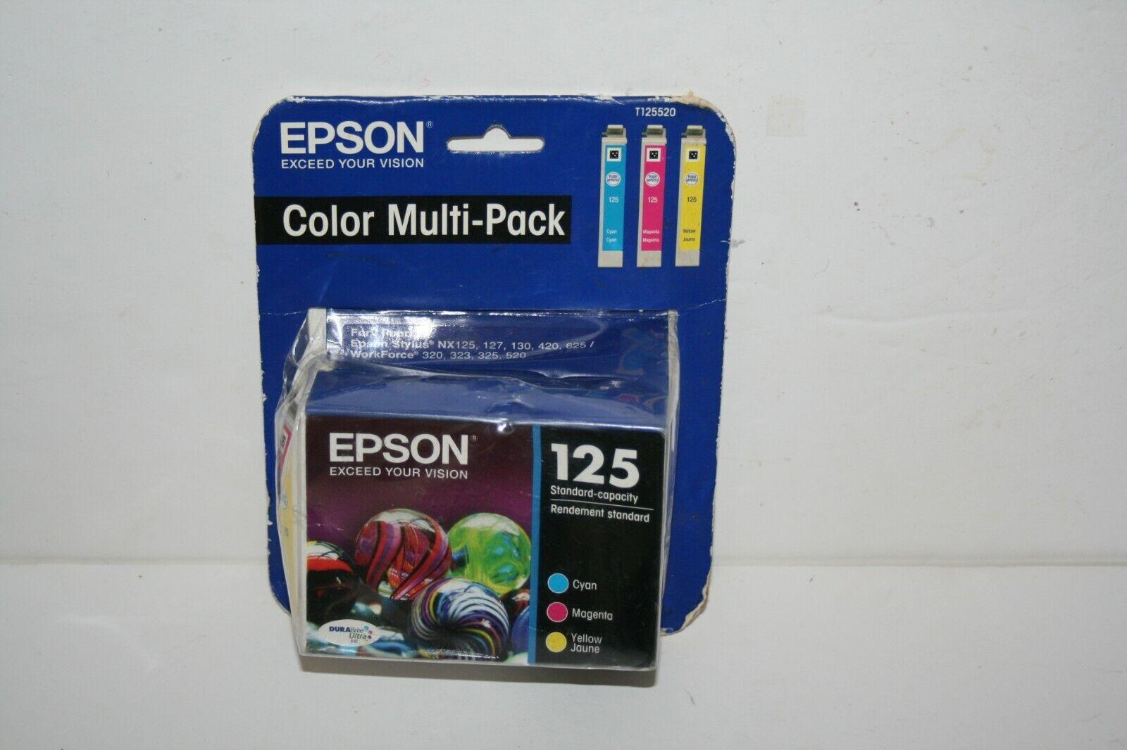 125 printer ink t125520 3 color cartridges