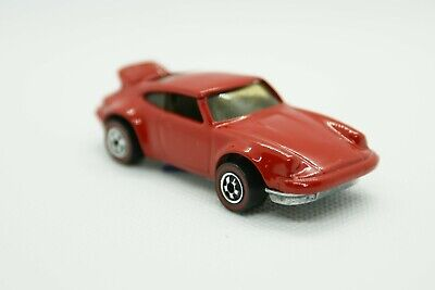 HOT WHEEL RED LINE PORSCHE P-911 RED ENAMEL OREGINAL WHEELS