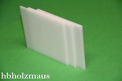 Acrylglas GS weiß, Zuschnitt 500 x 400 x 4 mm  - Acrylglas Platte