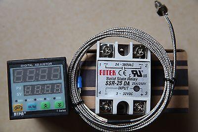 Fc Manual Auto-tuning Pid Temperature Controller Td4-snr K Sensor25a Da Ssr