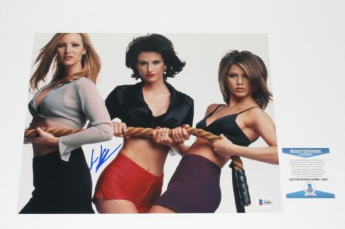 LISA KUDROW SIGNED 11x14 PHOTO BECKETT COA FRIENDS PHOEBE JENNIFER ANISTON COX