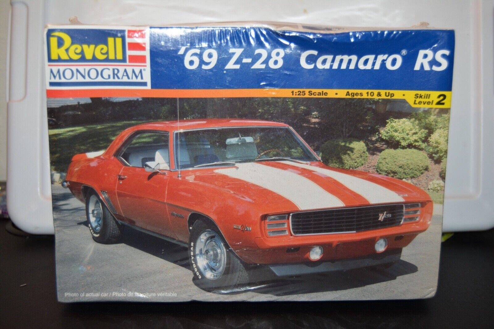 Revell 1:25 69 Camaro Z/28, New, Free Shipping