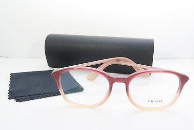 Prada Women's Pink Glasses with case VPR 19O JAH-1O1 50mm