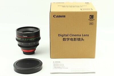 【UNUSED】 Canon CN-E 35mm T1.5 L F Digital Cinema Lens EF Mount From JAPAN #683