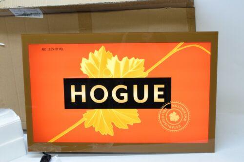 "Hogue Cellars Wine Winery Light Up Bar Sign 24"" x 15"" Battery + AC Man Cave"