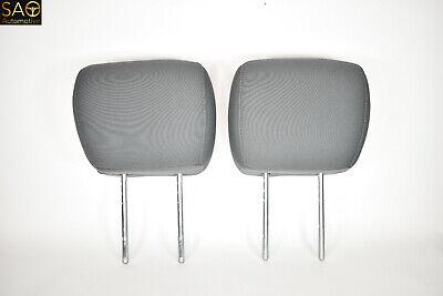 2009-2018 DODGE RAM 1500 2500 OEM FRONT SEAT HEAD REST HEADRESTS GRAY PAIR SET