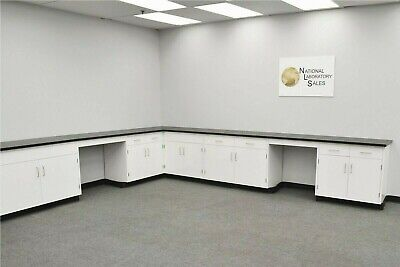 22 X 15 Fisher American Laboratory L Cabinet Group Bench Areas E2-356