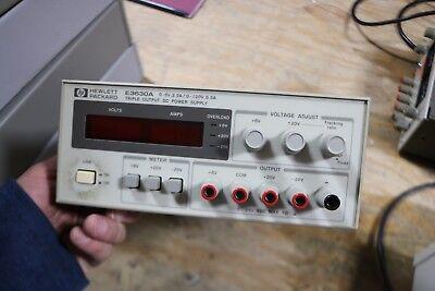 Hewlett Packard E3630a Triple Output Dc Power Supply