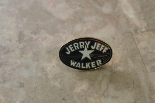 Very Rare JERRY JEFF WALKER Enamel Lapel Pin