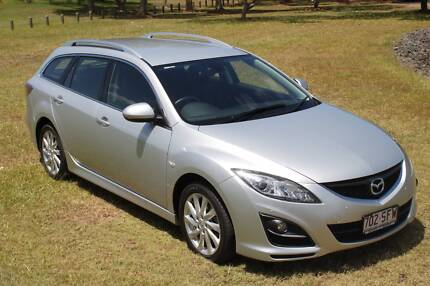 2012 Mazda 6 GH Series 2 Touring Wagon 5dr Spts Auto 5sp 2.5i Merrimac Gold Coast City Preview
