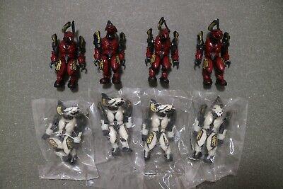 Lot of 10pcs Halo Mega Bloks Set #97110 UNSC Tan Marine Mini Figure Boy Toy New