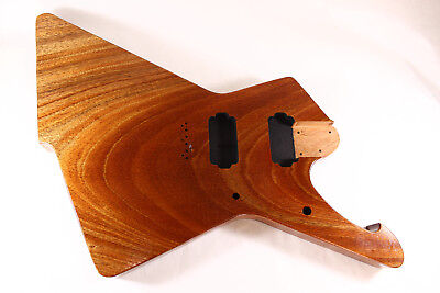1 pc Mahogany Destroyer Iceman  body Fits Ibanez(tm) RG and Jem necks P471 for sale  Plainfield