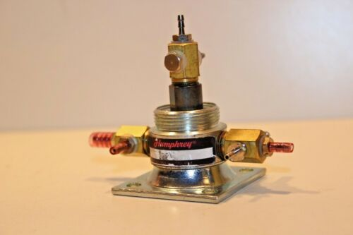 Humphrey Stainless Steel Air Piloted Valve, Used Excln. Condition.
