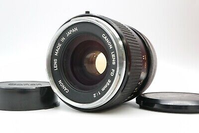 <Excellent> CANON FD 35mm F/2 Lens MF Wide Angle from Japan #17951