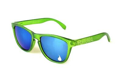Futura Sunglasses Blue Lenses,Green Frames, Frogskins, Knockaround, (Knockarounds Sunglasses)