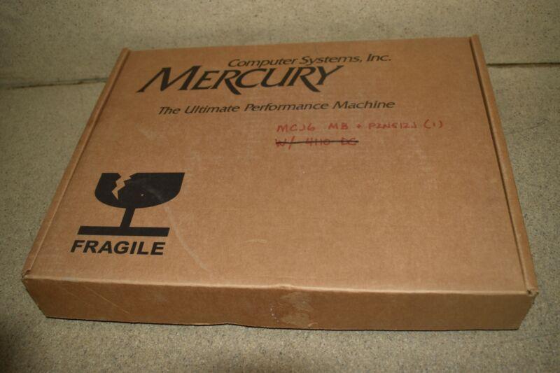 ^^ MERCURY COMPUTER RACE MCJ6 VMI/VME  MOTHERBOARD -NEW IN BOX   (GS38)