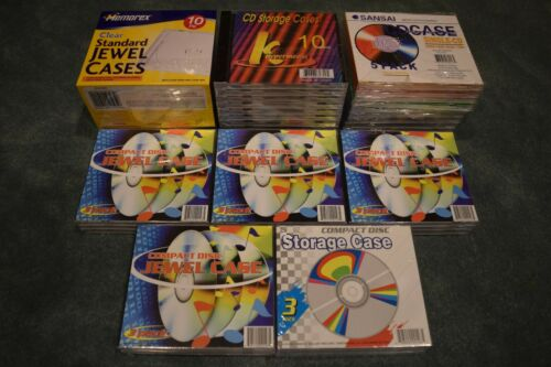Standard Size CD Jewel Cases - Lot of 45