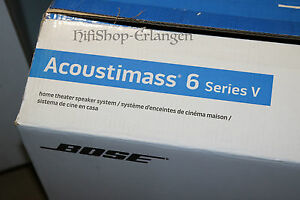 Bose Acoustimass 6 Series V 5 LFE Only MODUL Nur Aktiver Subwoofer TOP NEU/OVP