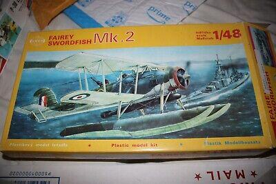 Smer Fairey Swordfish Mk 2 Float Plane 1:48 NO DECALS OR INSTRUCTIONS