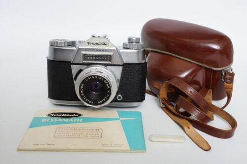 Voigtlander Bessatic camera with 50mm 2.8 Color-SkoparX lens