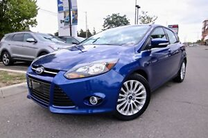 2012 Ford Focus 5DR HB TITANIUM AUTOMATIC LEATHER SUNROOF SUPER