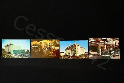 PSA Vintage Postcard Hotel San Franciscan Lot of 4 Whitcomb Pacific Southwest