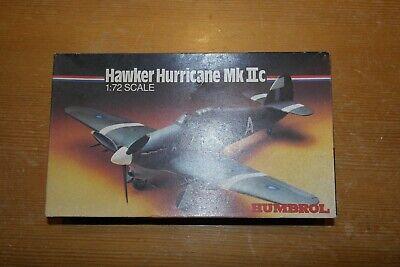 HELLER 1:72 HAWKER HURRICANE MK IIC HK72002