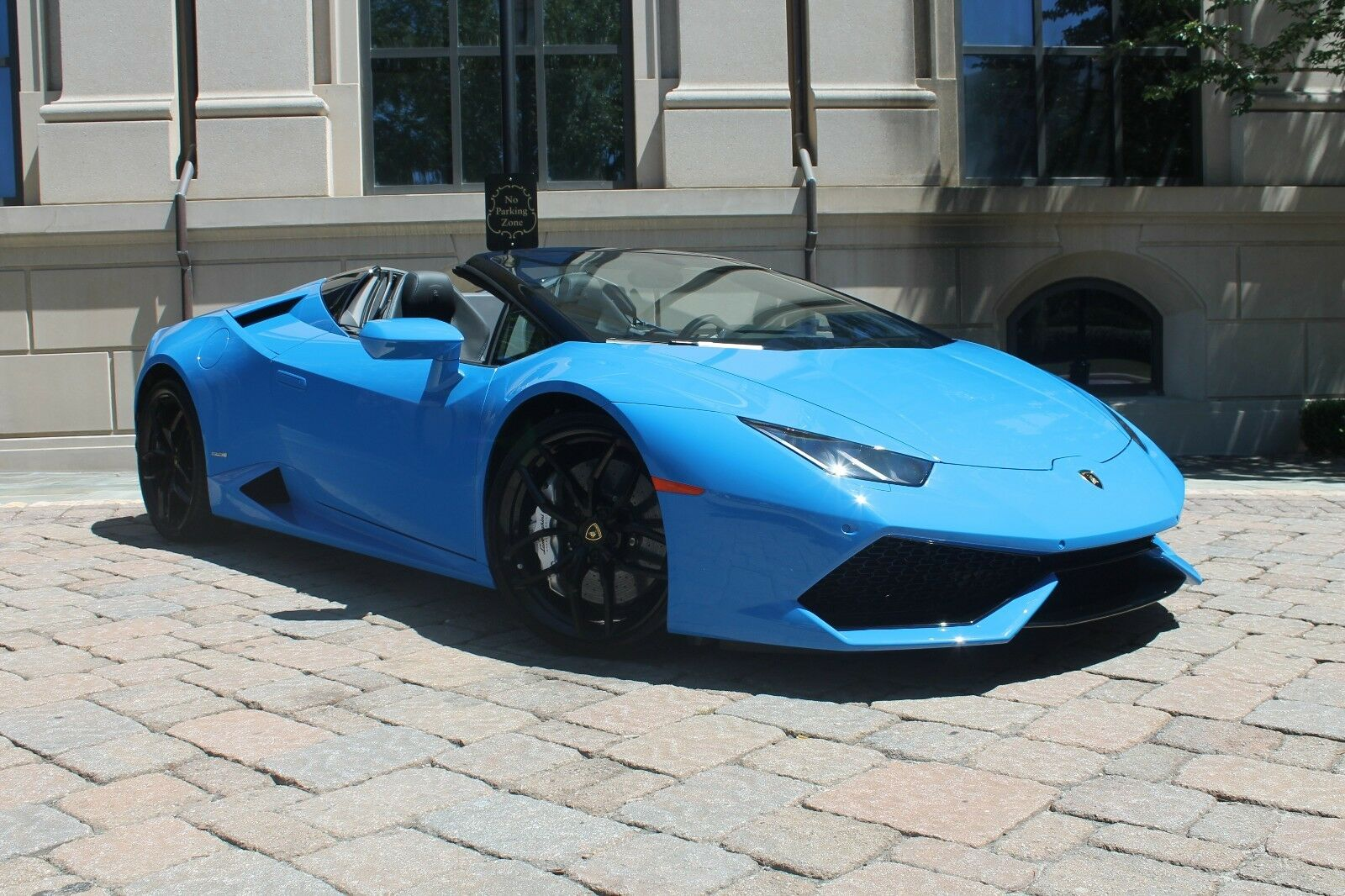 Lamborghini Huracan Spyder in RARE BLU LEMANS!! HIGH MSRP!