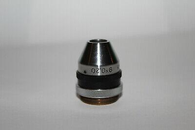 Lomo Microscope Objective 9x 0.20 Plan Iris Ring Rms Thread Photo