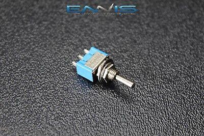 Toggle Switch Spdt On Off On Mini Toggle 3 Amp 250v 6 Amp 125v 3 Pin Ec-2530