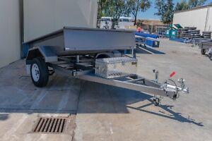 7x5 Single Axle Hydraulic Tipper Trailer 1350kg ATM Pooraka Salisbury Area Preview