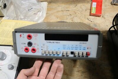 Vintage Used And Working Wavetek Meterman Bdm40 Digital Meter