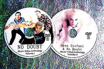 Button & FREE NO DOUBT GWEN STEFANI Music Video Collection 93-17 2 DVD 46 Videos