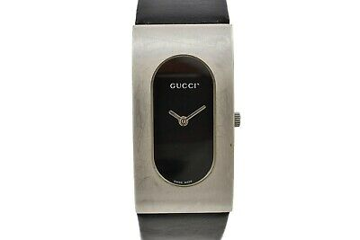Vintage Gucci 2400L Quartz Stainless Steel Ladies Watch 1910