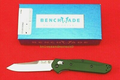 BENCHMADE 940 AXIS LOCK, CUSTOM OSBORNE DESIGN, CPM-S30V GREEN KNIFE, NEW IN BOX