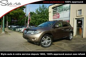 2009 Nissan Murano LE AWD CUIR TOIT PANORAMIC TV DVD
