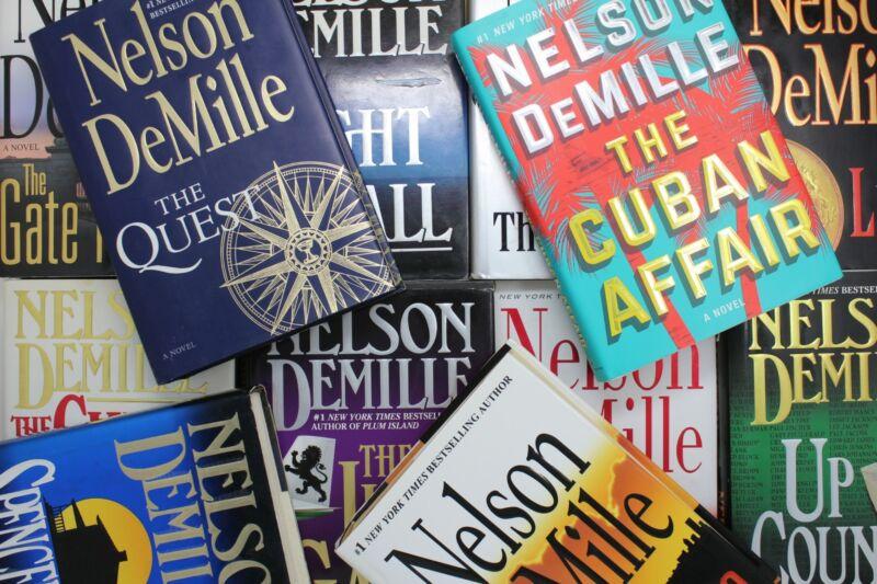 Lot of 5 Nelson DeMille Thriller Hardcover Books MIX