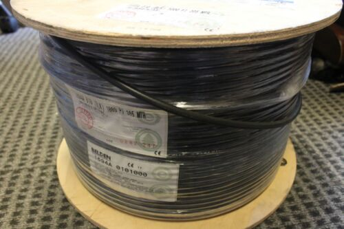 Belden 1694A 18AWG Digital Coaxial Cable 1,000 feet *BRAND NEW*