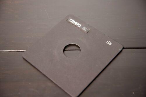 4x5 Lens Board - copal 1 for Cambo SC cameras