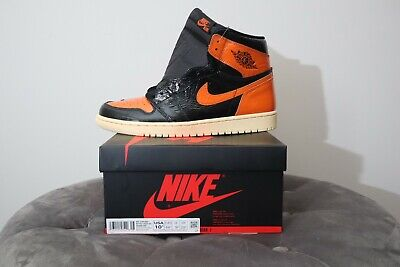 Nike Air Jordan 1 Retro High OG Shattered Backboard, size 10.5 US, 555088-028