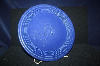 1 Vintage Cobalt Blue Fiesta Ware 12 1/4